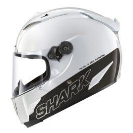 SHARK Race-R PRO CARBON BLANK White Azur