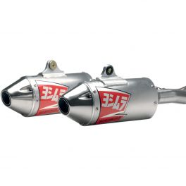 RS-3D DUAL oval muffler off-road exhaust systems and slip-on mufflers 1820-0335