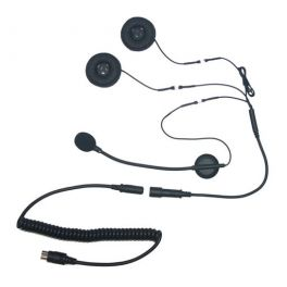 Harley Davidson 7 Pin Headset with Boom Microphone LCSHS-H130P