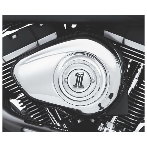 Skull Air Cleaner : Number one skull air cleaner trim lcs motorparts