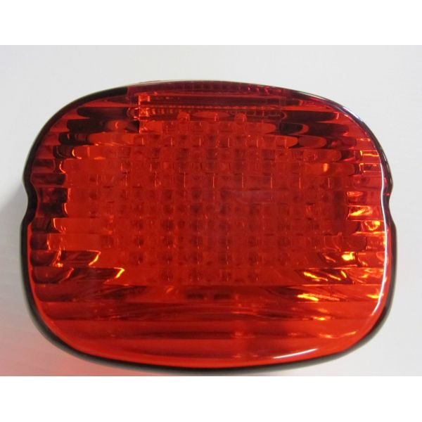 Quot Bad Ass Quot Led Strobing Laydown Tail Light For H D Street