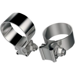 STAINLESS STEEL MUFFLER CLAMPS 1860-0667