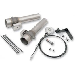 OPTIONAL SOUND VALVE SYSTEMS FOR SLIP-ON MUFFLERS
