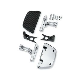Chrome Softail Passenger Footboard and Mount Kit LCS5271504A