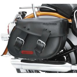 Synthetic Leather Saddlebags for Softail Models LCS9153700C