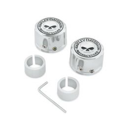 Willie G. Skull Front Axle Nut Cover Kit LCS4316308A