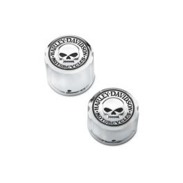 Willie G. Skull Rear Axle Nut Cover Kit LCS4170609