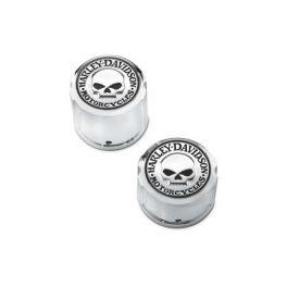 Willie G. Skull Rear Axle Nut Cover Kit LCS4170609