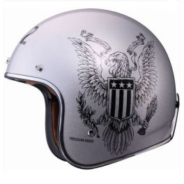 OF583 BOBBER FREEDOM RIDER HELMET
