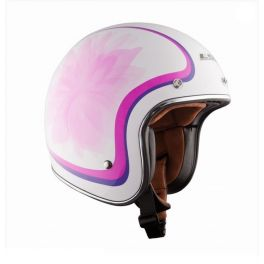 OF583 BOBBER GLOW WHITE HELMET