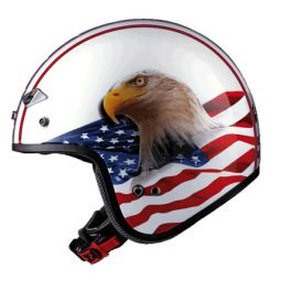 OF567 EAGLE WHITE HELMET