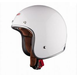OF583 BOBBER WHITE HELMET