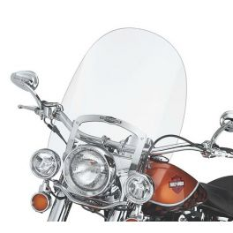 King-Size Nostalgic H-D Detachables Windshield for FL Softail Models LCS5714005