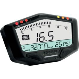 X-2 BOOST GAUGE WITH AIR/FUEL RATIO AND TEMPERATURE [2212-0375