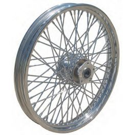 21x3.25 ULTIMA COMPLETE CHROME 60 SPOKE WHEEL MW36752