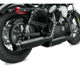 Screamin' Eagle Street Cannon Slip-On Mufflers - Sportster Shorty Dual LCS64900209A