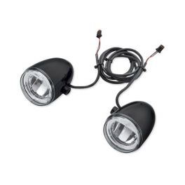 Daymaker Reflector LED Fog Lamps - Gloss Black Housing LCS68000092