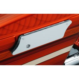 WFB SMOOTH-STYLE CHROME SADDLEBAG LATCH COVERS