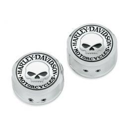 Willie G. Skull Swingarm Pivot Bolt Cover Kit LCS4323508