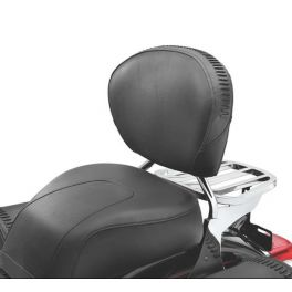 Medium Low Touring Passenger Backrest Pad with Fat Boy Styling LCS5162207