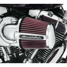 Screamin' Eagle Heavy Breather Elite Performance Air Cleaner Kit LCS29400173