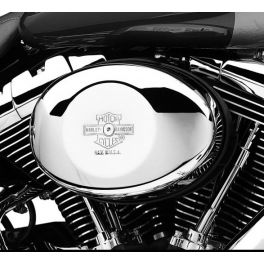 Nostalgic Bar & Shield Air Cleaner Cover for Twin Cam Models LCS2976501