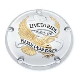 Live To Ride Derby Cover LCS2534099A