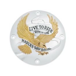 Live To Ride Derby Cover LCS2539895T