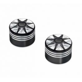 Burst Front Axle Nut Covers LCS43000031