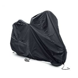 Indoor/Outdoor Black Motorcycle Cover LCS93100025