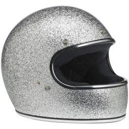 Gringo Helmet - Bright Silver MF