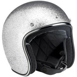 Bonanza Helmet - Brite Silver MF