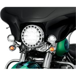 LED HALO HEADLIGHT AND PASSING LIGHT TRIM RINGS