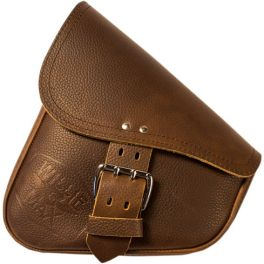 LIMITED EDITION BROWN LEATHER SWINGARM BAGS