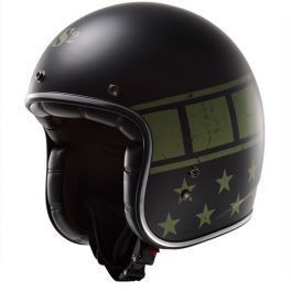 LS2 KURT HELMET MILITARY BLACK