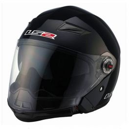 OF569 SCAPE GLOSS BLACK HELMET