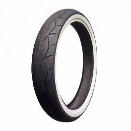Vee Rubber Front Tire Wide White Wall Harley WWW 120/70-21 VRM302F