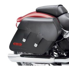 H-D Detachables Leather Saddlebags - Breakout - Smooth Leather LCS90200816