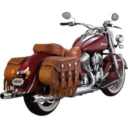 INDIAN CHROME CLASSIC SLIP-ON MUFFLERS