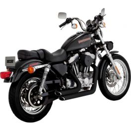 ESCAPAMENTO SHORTSHOTS STAGGERED BLACK PARA SPORTSTER 99-03 1800-1935